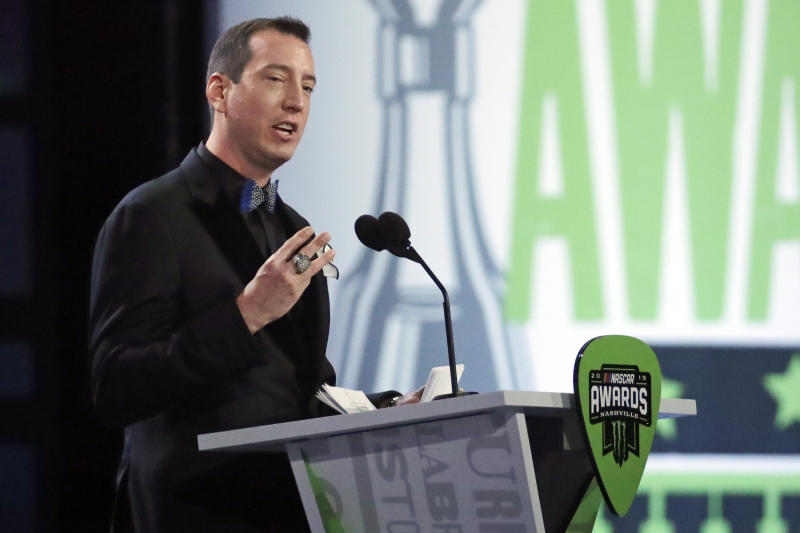 Kyle Busch has 2 NASCAR titles and an eye on at least 5 more