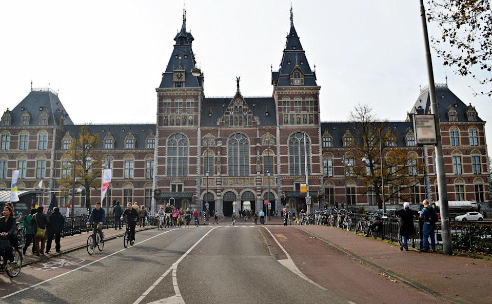 """<p>Amsterdam's national arts and history museum is featuring <a href=""""https://www.rijksmuseum.nl/en/whats-on/exhibitions/slavery"""" rel=""""nofollow noopener"""" target=""""_blank"""" data-ylk=""""slk:a powerful exhibition on slavery during the Dutch Colonial period"""" class=""""link rapid-noclick-resp"""">a powerful exhibition on slavery during the Dutch Colonial period</a> structured around 10 true stories from Brazil, Suriname, the Caribbean, South Africa, and Asia spanning 250 years. These stories are told through objects, paintings and archival documents, along with oral poems and music, featuring items collected from museums, archives, and private collections from around the world. <a href=""""https://www.rijksmuseum.nl/en/stories/slavery"""" rel=""""nofollow noopener"""" target=""""_blank"""" data-ylk=""""slk:Virtual tours"""" class=""""link rapid-noclick-resp"""">Virtual tours </a>are currently available, as the museum remains closed through June 8. Visit the <a href=""""https://www.rijksmuseum.nl/nl"""" rel=""""nofollow noopener"""" target=""""_blank"""" data-ylk=""""slk:Rijiksmuseum site"""" class=""""link rapid-noclick-resp"""">Rijiksmuseum site</a> to stay updated with the institution's and exhibition openings.</p>"""