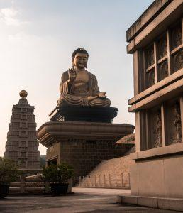 The Fo Guang Shan Buddha Museum located in Dashu, Taiwan. (Courtesy of Breckler Pierre)