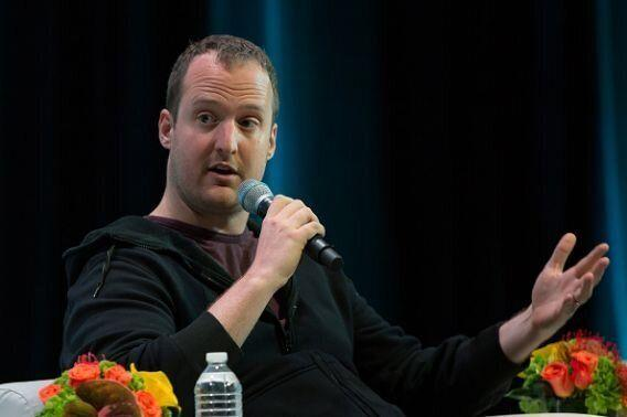 Ted Livingston, founder and CEO of Kik Interactive Inc., speaks during the Token Summit in New York, U.S., on May 16, 2019. (Alex Flynn/Bloomberg via Getty Image)