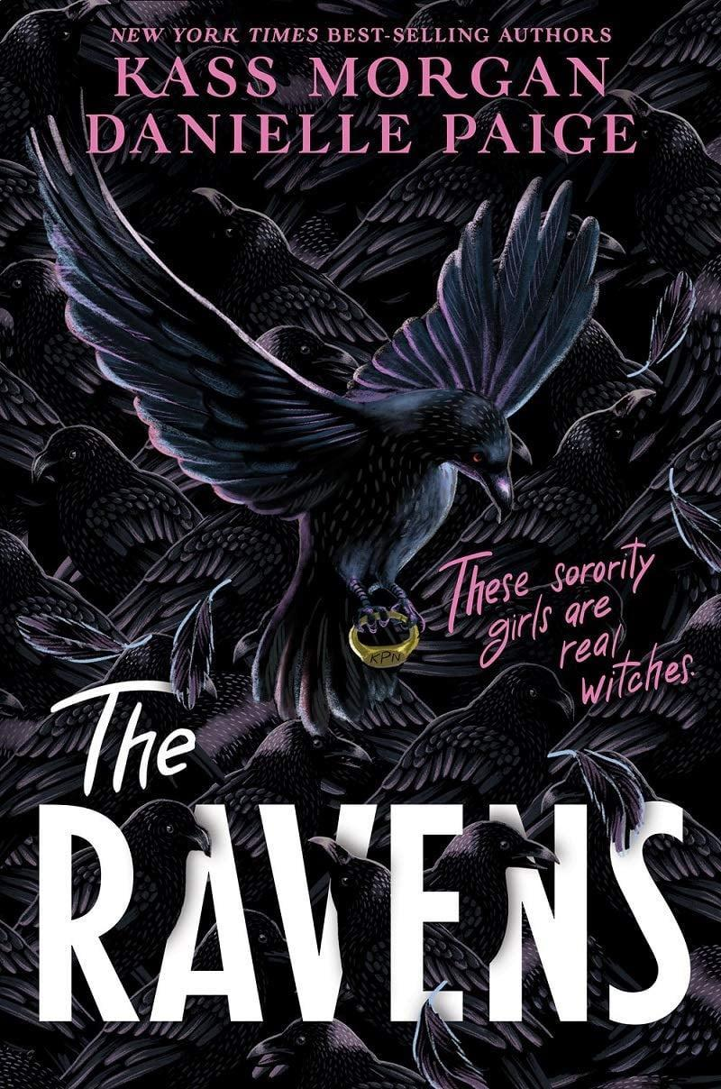 <p>Kass Morgan and Danielle Paige team up for a tale of witchcraft and backstabbing in <span><strong>The Ravens</strong></span>. Set against the backdrop of Savannah, Georgia, the novel follows two Kappa Rho Nu pledges as they learn what it takes to join the elite sorority populated entirely by young witches. </p> <p><em>Out Nov. 3</em></p>