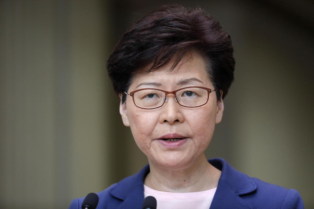 Hong Kong Leader Carrie Lam Pledges New Effort at Dialogue Over Protests