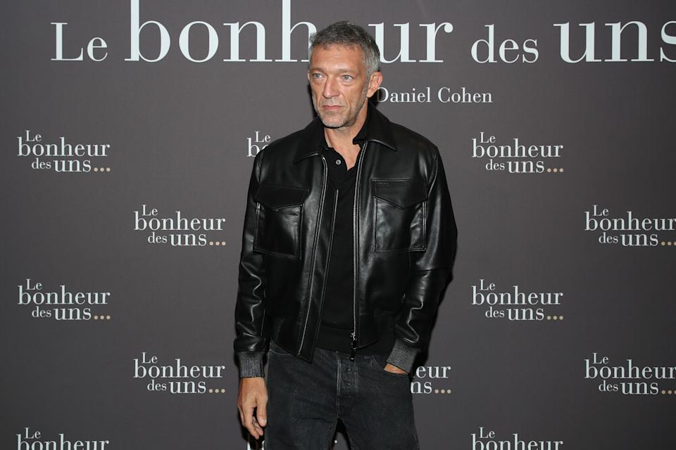 PARIS, FRANCE - SEPTEMBER 08: Actor of the movie Vincent Cassel attends the
