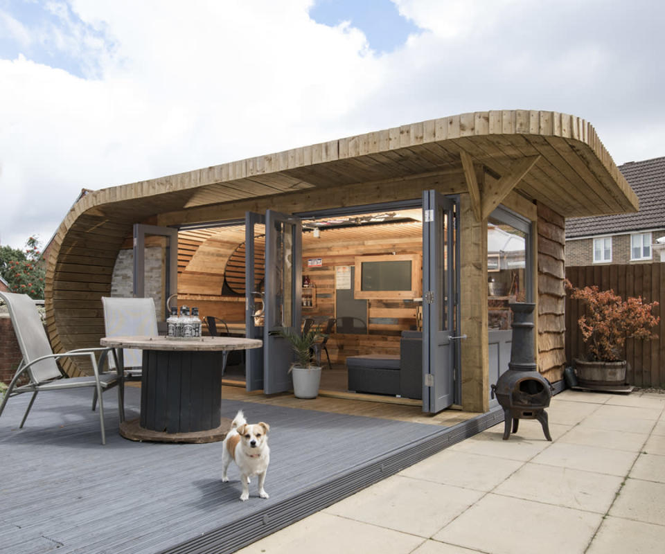 <p>PUB & ENTERTAINMENT:<br>Noah's – owned by David Morris in Blackwood,Caerphilly (Picture: Shed of the Year) </p>