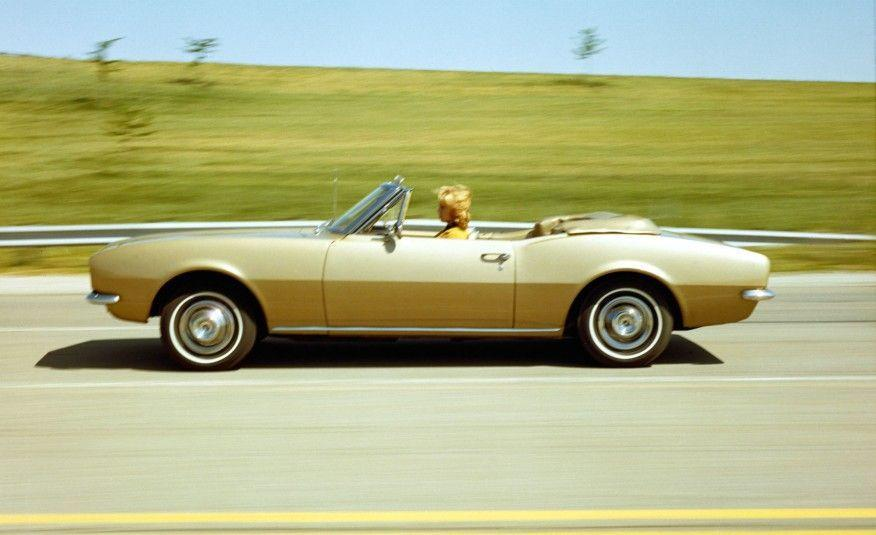 <p>Alongside the coupe, Chevrolet offered the Camaro as a convertible. Priced roughly $240 more than the coupe, just 25,141 convertibles were part of 1967 Camaro production.</p>