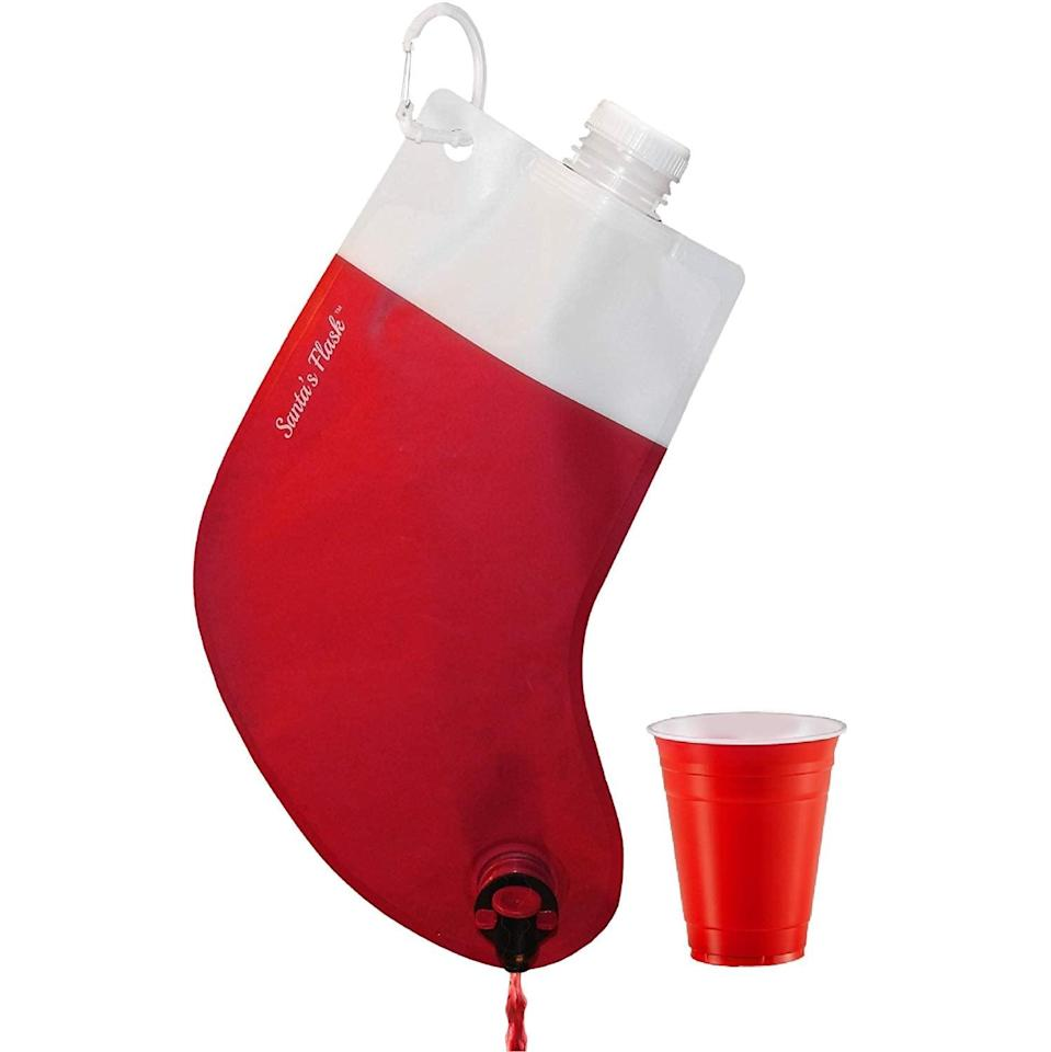 <p><span>Santa's Flask</span> ($15) is the best kind of stocking stuffer.</p>
