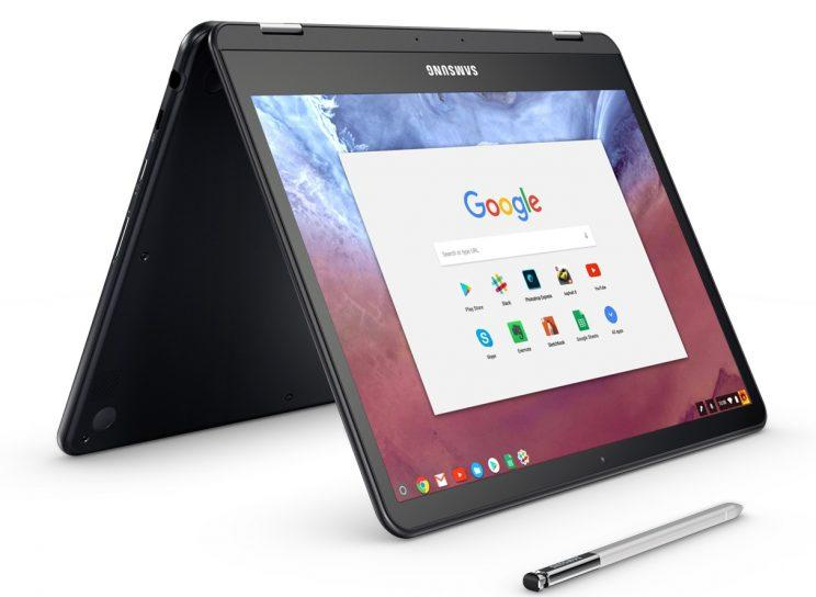 Samsung's Chromebook Plus and Pro can use Android apps.