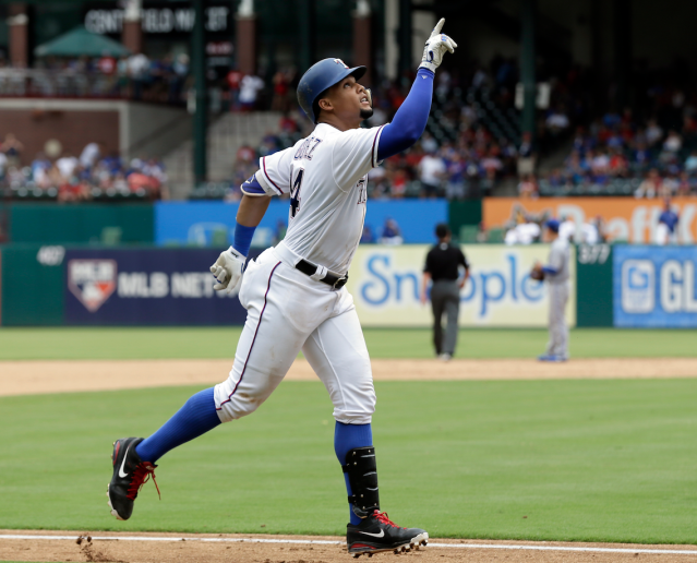 Things are pointing up for Carlos Gomez (AP)