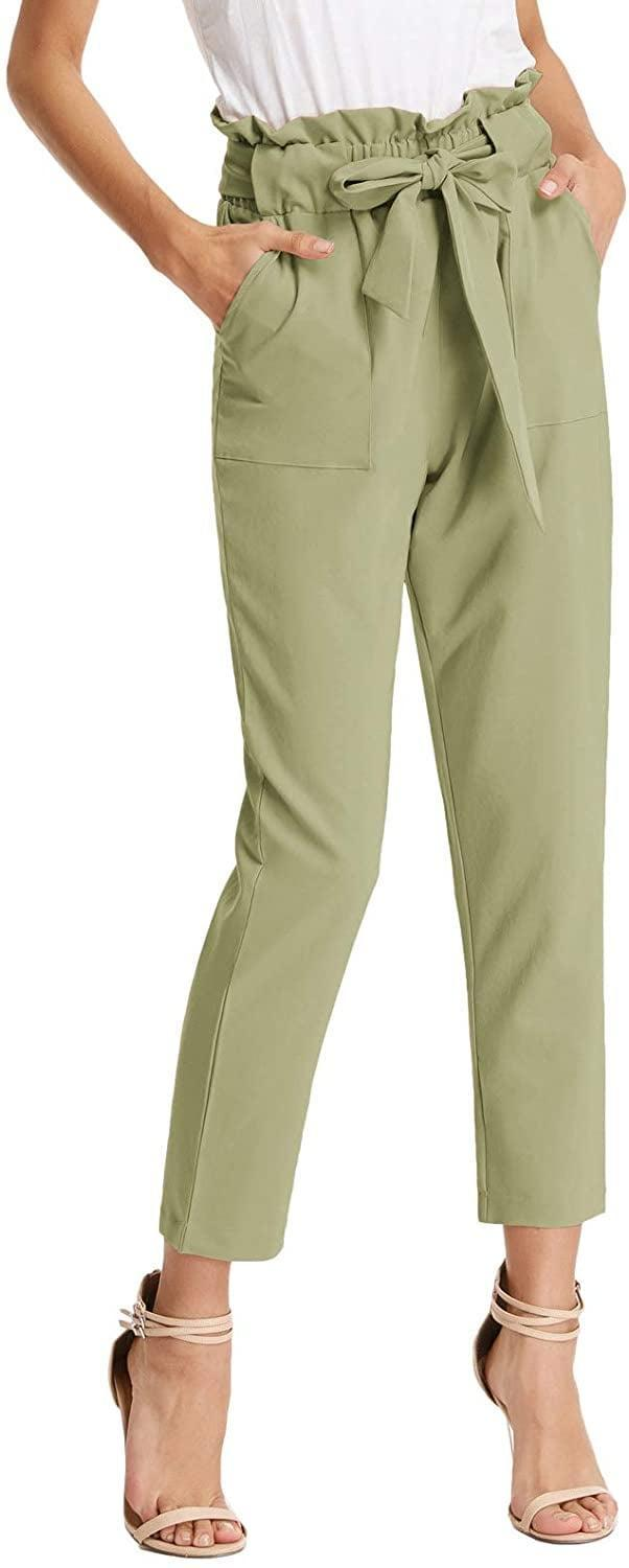 <p>These <span>Grace Karin Paper-Bag Pants</span> ($25) come in tons of colors.</p>