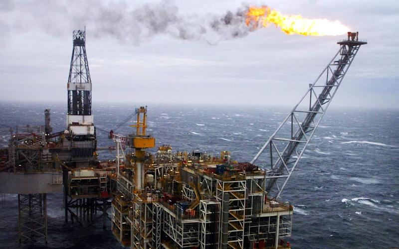Alex Salmond said North Sea oil would be a bonus for a separate Scotland's economy - Credit: PA