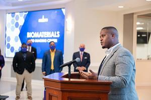 Qubein was joined with High Point City Councilman Cyril Jefferson who is spearheading this new initiative.