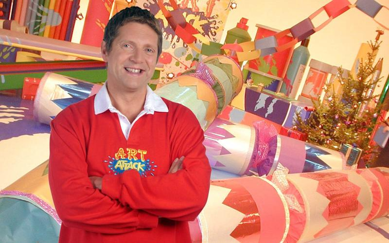 Art Attack ran for 18 years and over 500 episodes - ITV