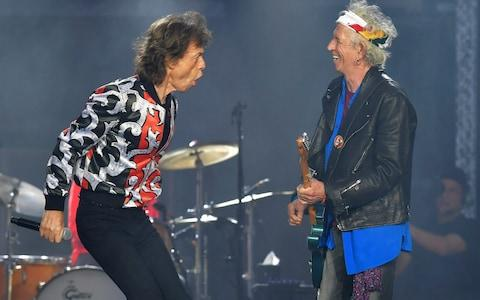 Mick Jagger and Keith Richards - Credit:  Mark Allan