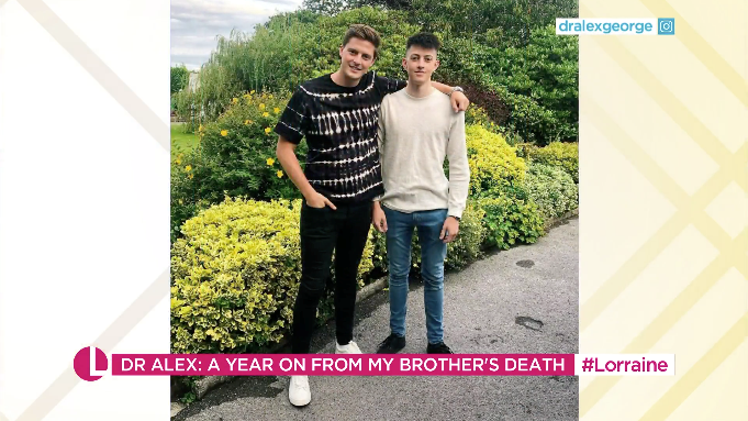 His brother Llyr dreamed of being a doctor and was due to start medical school (ITV)