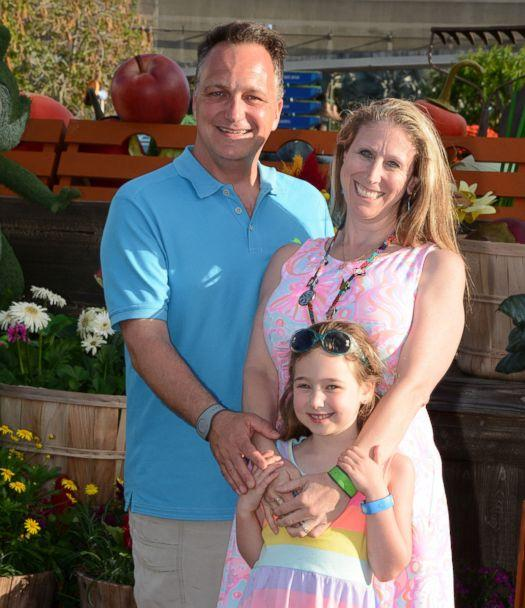 PHOTO: Ed Dentel poses for a photo with his wife Natalie and daughter Kayleigh. (Courtesy Ed Dentel)