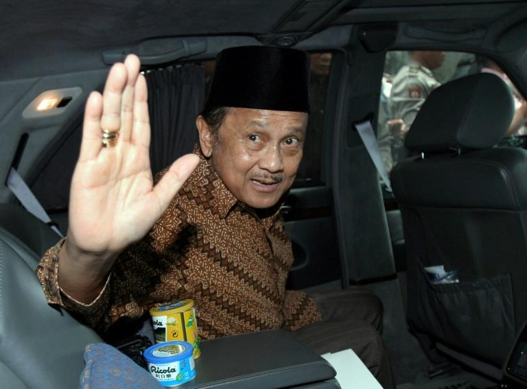 Former Indonesian President B.J. Habibie -- seen here in March 2007 -- has died at the age 83