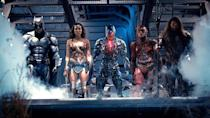 """<p>Is Supes really dead? Can Batfleck crack a smile? Was <a rel=""""nofollow"""" href=""""https://www.yahoo.com/movies/film/wonder-woman"""" data-ylk=""""slk:Wonder Woman"""" class=""""link rapid-noclick-resp""""><em>Wonder Woman</em></a> a fluke? Burning questions will be answered when our super friends unite in the <a rel=""""nofollow"""" href=""""https://www.yahoo.com/movies/tagged/zack-snyder"""" data-ylk=""""slk:Zack Snyder"""" class=""""link rapid-noclick-resp"""">Zack Snyder</a>/<a rel=""""nofollow"""" href=""""https://www.yahoo.com/movies/tagged/joss-whedon"""" data-ylk=""""slk:Joss Whedon"""" class=""""link rapid-noclick-resp"""">Joss Whedon</a>-helmed tentpole that aims to put the <a rel=""""nofollow"""" href=""""https://www.yahoo.com/movies/tagged/dc-extended-universe"""" data-ylk=""""slk:DCEU"""" class=""""link rapid-noclick-resp"""">DCEU</a> on par with the <a rel=""""nofollow"""" href=""""https://www.yahoo.com/movies/tagged/marvel-cinematic-universe"""" data-ylk=""""slk:MCU"""" class=""""link rapid-noclick-resp"""">MCU</a>. 