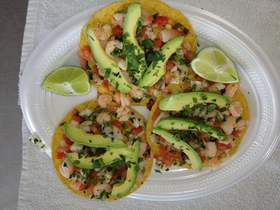"""<p><strong><a href=""""https://www.yelp.com/biz/los-dos-hermanos-taco-truck-birmingham"""" rel=""""nofollow noopener"""" target=""""_blank"""" data-ylk=""""slk:Los Dos Hermanos Taco Truck"""" class=""""link rapid-noclick-resp"""">Los Dos Hermanos Taco Truck</a>, Birmingham</strong><br></p><p>""""Hands down, this is the BEST street taco I've had, anywhere! I tried 3 different meats - pork, beef cheeks, lamb - all wonderfully and subtly different, with varying flavors and textures."""" – Yelp user <a href=""""https://www.yelp.com/user_details?userid=kOuPuLygrYvXmBUhGlL_aQ"""" rel=""""nofollow noopener"""" target=""""_blank"""" data-ylk=""""slk:Zut A."""" class=""""link rapid-noclick-resp"""">Zut A.</a></p><p>Photo: Yelp/<a href=""""https://www.yelp.com/user_details?userid=7Axl-PHs0N2Vy-FgLGNCEA"""" rel=""""nofollow noopener"""" target=""""_blank"""" data-ylk=""""slk:J.G."""" class=""""link rapid-noclick-resp"""">J.G.</a></p>"""