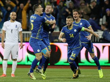 UEFA Nations League: Kosovo close in on shock Euro 2020 place by thrashing Azerbaijan