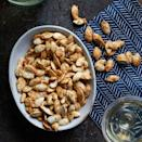 <p>Garlic bread meets pumpkin seeds in this baked pumpkin seed recipe--and they really hit it off!</p>