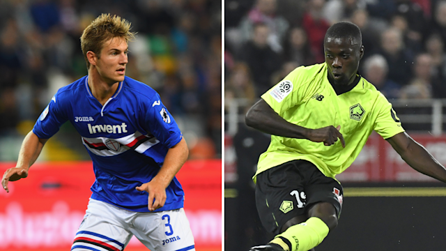 Joachim Andersen and Nicolas Pepe could be on the way to the Premier League.