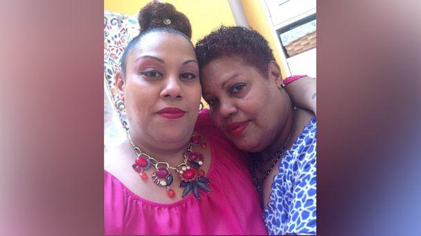 PHOTO: Odalis Santana with her mother, Ana, who died in April of COVID-19. The mother and daughter were best friends, like twins, according to Santana. (Courtesy Odalis Santana)