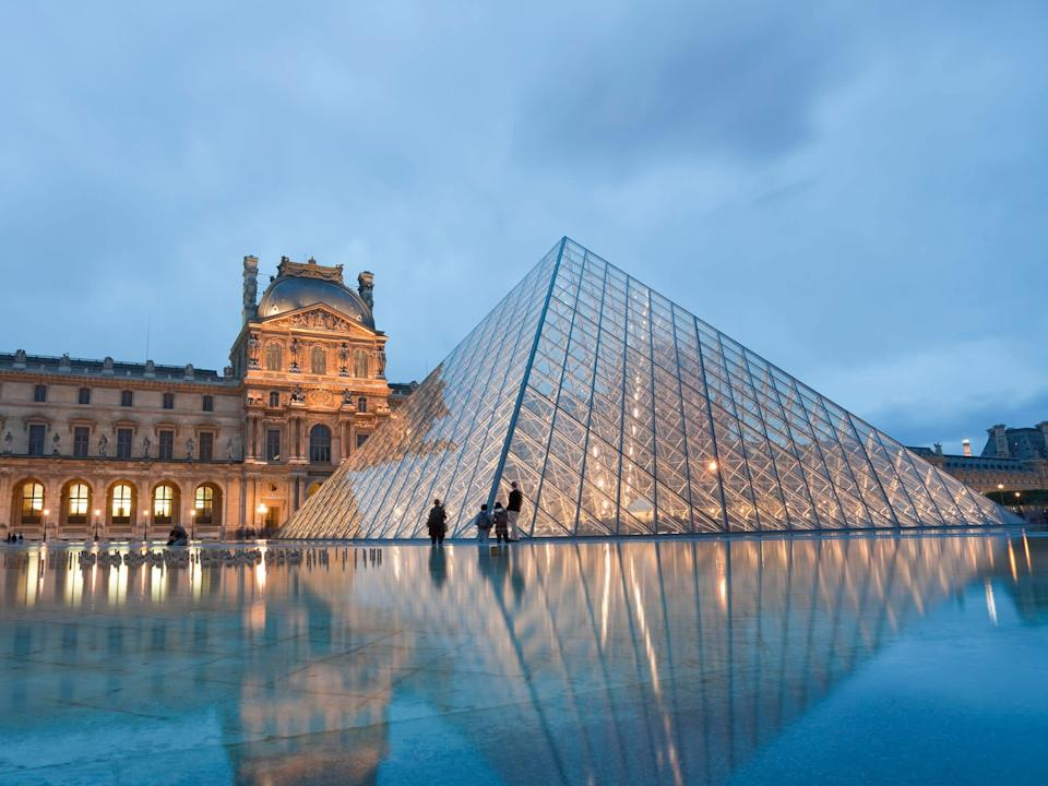 Many museums, not just the Louvre, have been looking for ways to adopt virtual reality: Getty