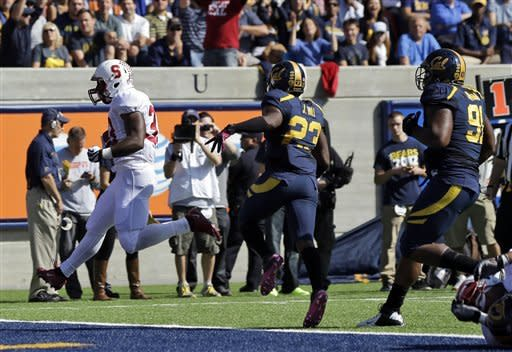 No. 22 Stanford shreds Cal 21-3 in Big Game