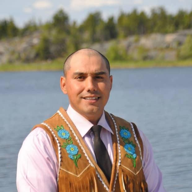 Kelvin Kotchilea was the NDP's candidate in the Northwest Territories during the 2021 federal election. He was up against Lea Mollison for the Conservatives, incumbent Michael McLeod with the Liberals, Roland Laufer with the Greens and Jane Groenewegen, who ran as an independent.  (Submitted by Kelvin Kotchilea - image credit)