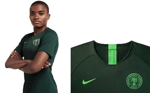 Nigeria away kit, 2019 Women's World Cup - Credit: NIKE