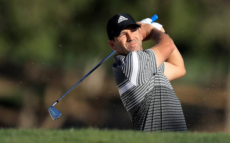 Sergio Garcia shot a two-under 69 to move within two of Abu Dhabi HSBC Championship lead - David Cannon Collection
