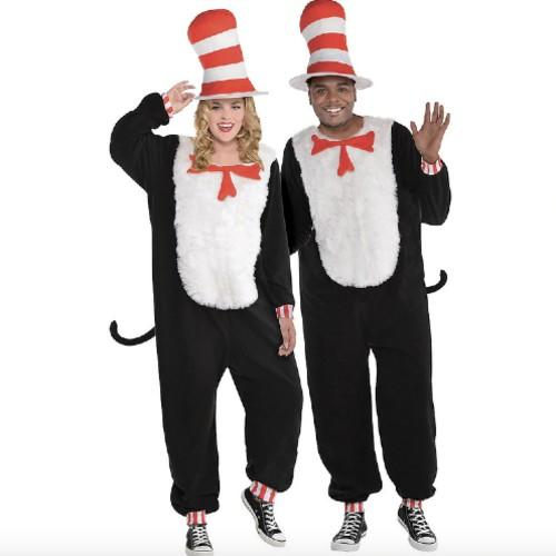 Plus-Size Cat in the Hat Costume. (Photo: Party City)