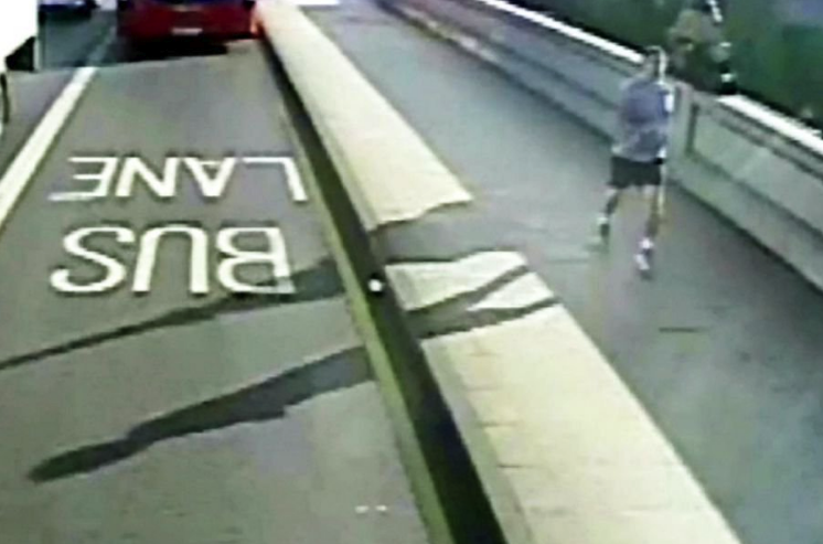 The Putney pusher was accused of pushing a woman into the path of a bus