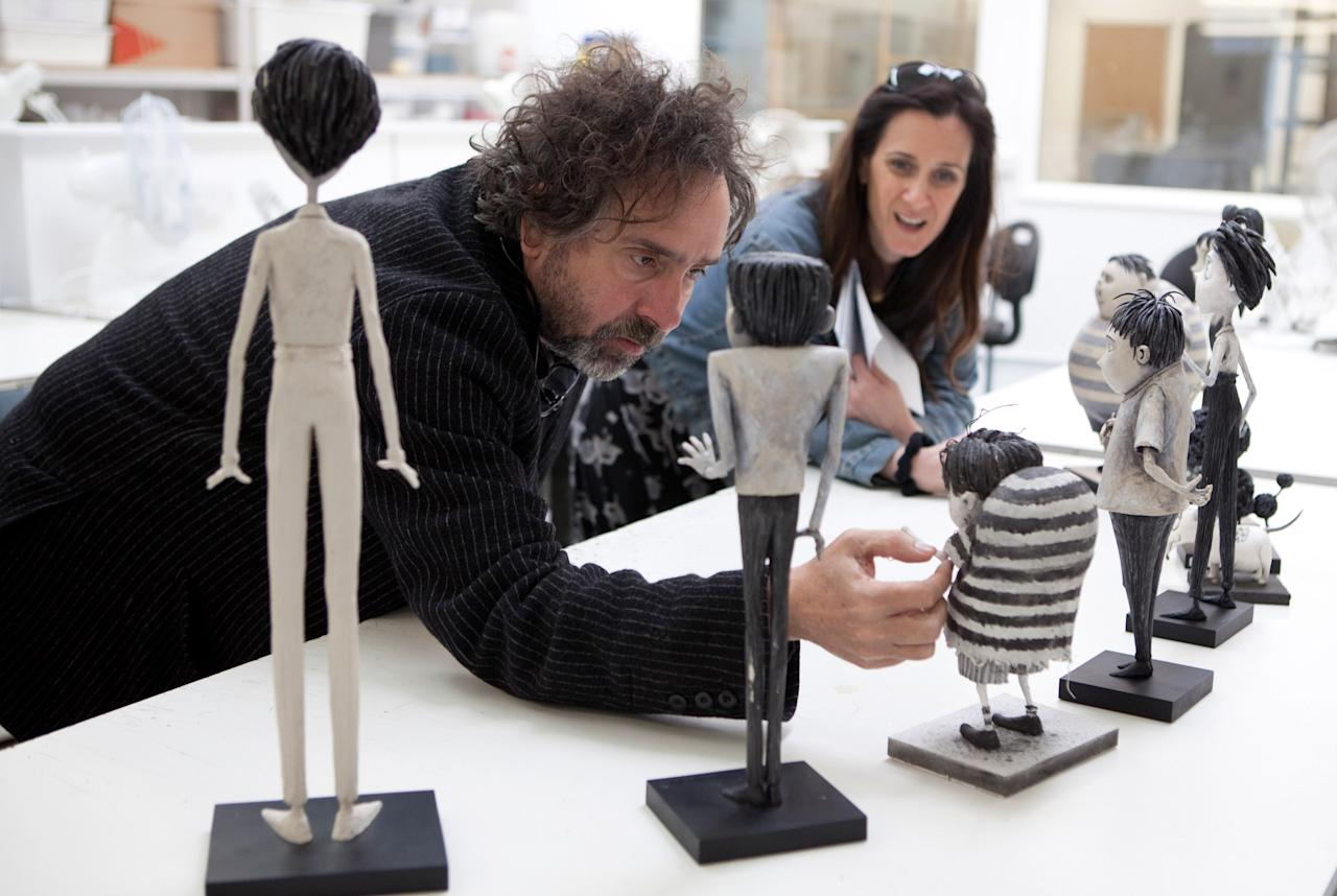 """Tim Burton  Burton is one of Hollywood's best known directors, with a signature gothic style all his own. But he often works in the realms of fantasy and horror, genres seldom embraced by the Academy, so even his most celebrated films -- like """"Beetlejuice,"""" """"Edward Scissorhands,"""" and """"Sweeney Todd"""" -- have failed to earn him any Oscar recognition. His only nomination to date was for Best Animated Feature for """"Corpse Bride"""" in 2005. He could be nominated again in that category this year for """"Frankenweenie."""""""