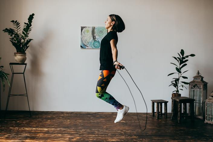 jump rope home exercise