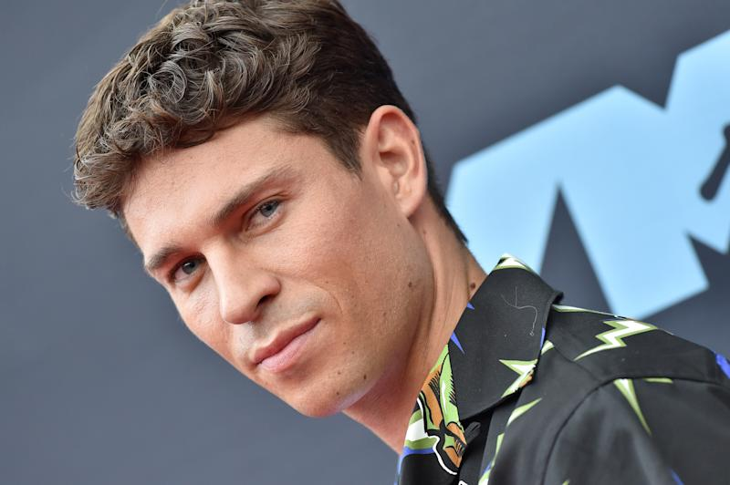 NEWARK, NEW JERSEY - AUGUST 26: Joey Essex attends the 2019 MTV Video Music Awards at Prudential Center on August 26, 2019 in Newark, New Jersey. (Photo by Axelle/Bauer-Griffin/WireImage)