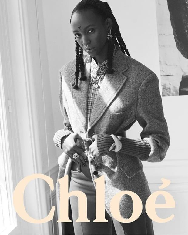 <em>Lous and the Yakuza stars in </em>Chloé<em>'s Fall 2020 campaign, photographed by David Sims.</em>