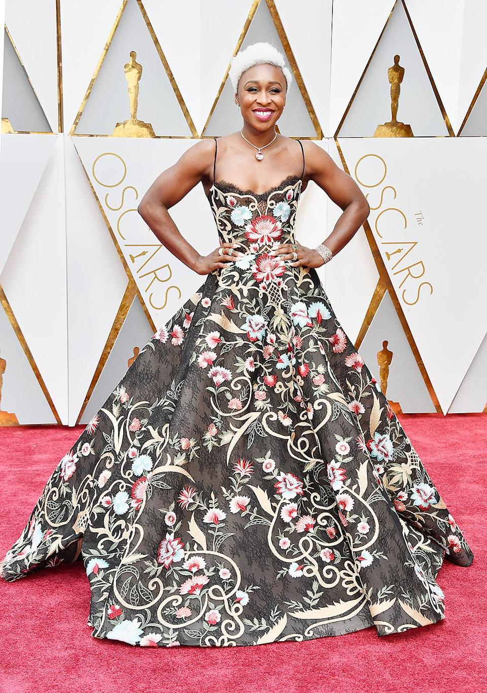 <p>Cynthia Erivo attends the 89th Annual Academy Awards at Hollywood & Highland Center on February 26, 2017 in Hollywood, California. (Photo by Frazer Harrison/Getty Images) </p>
