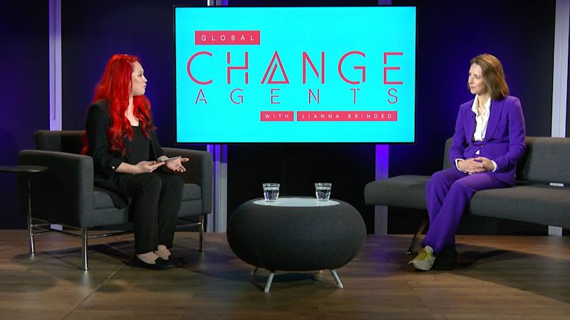 Legal & General Head of Personal Investing Dame Helena Morrissey joined Yahoo Finance UK's Global Change Agents with Lianna Brinded show.