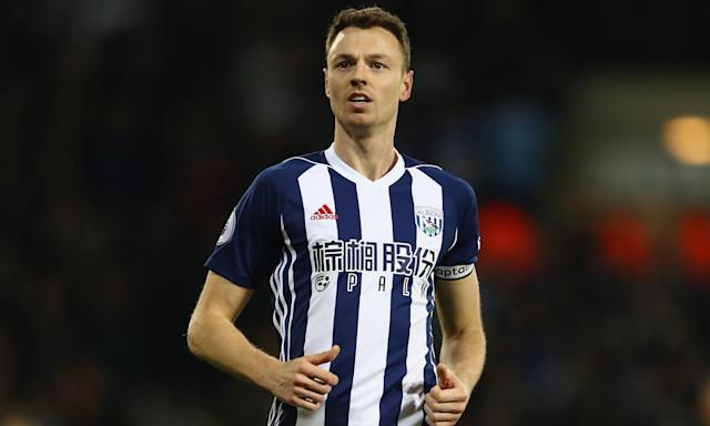 Jonny Evans is a man in demand after dropping into the Championship with West Brom.
