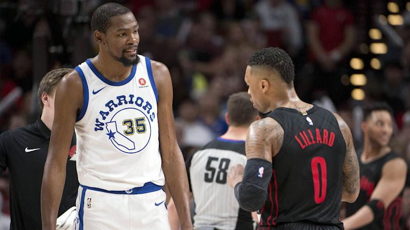 3899c0eb9354 Damian Lillard  Kevin Durant only one capable of scoring like James Harden