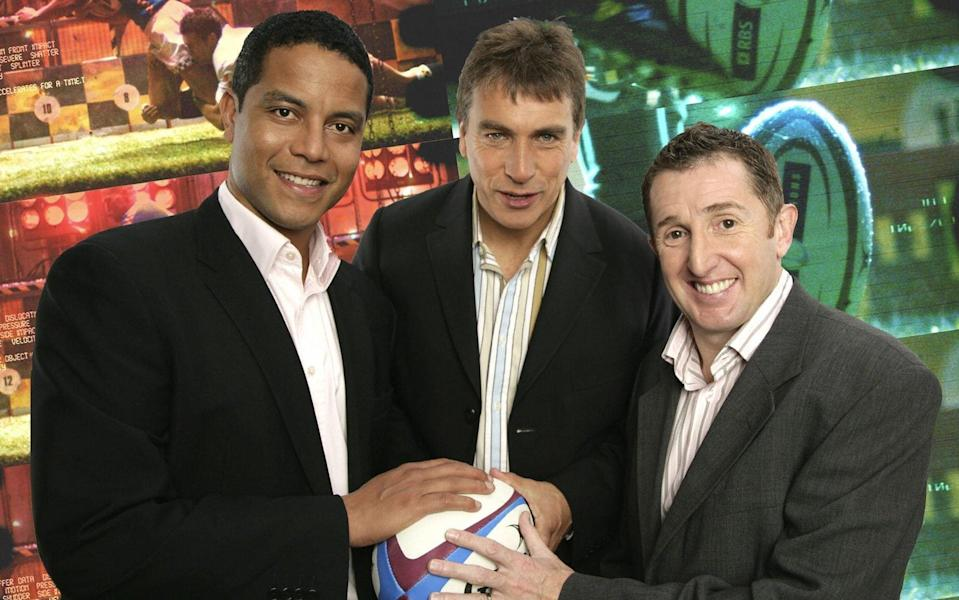 The BBC has used Inverdale front and centre in its rugby coverage for 30 years - BBC
