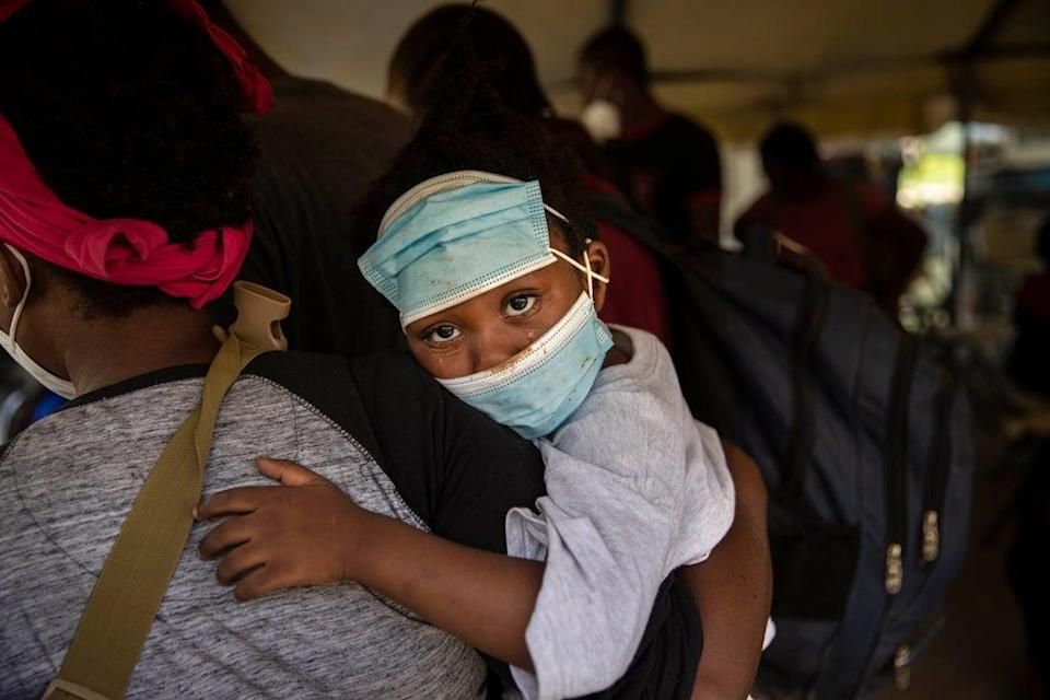 APTOPIX Haiti US Migrants Deported (Copyright 2021 The Associated Press. All rights reserved.)