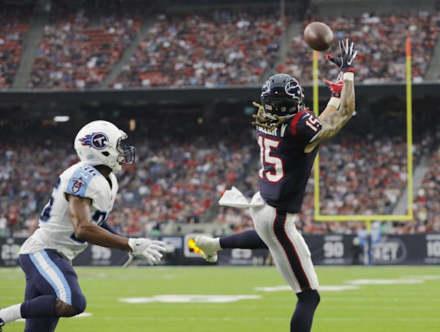 Will Fuller V roasted the Titans defense on Sunday, and he deserves a long look from fantasy owners as the bye weeks begin. (Photo by Tim Warner/Getty Images)