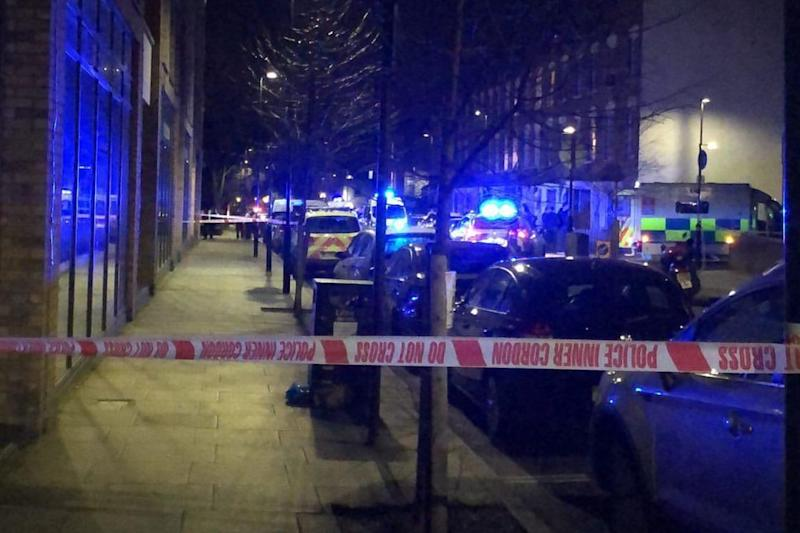 The first 2020 Met Police murder probe was launched in Finsbury Park (@CrimeLdn)