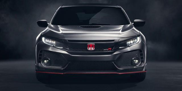 Honda Civic Type R front