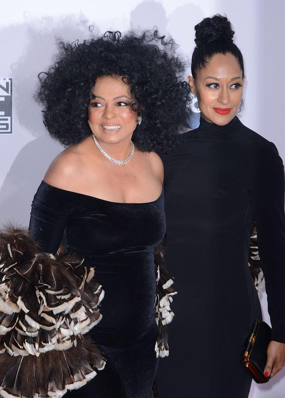 <p>With their larger-than-life personalities and matching heads of curly hair, the Ross ladies are all around goals—and look-alikes. </p>