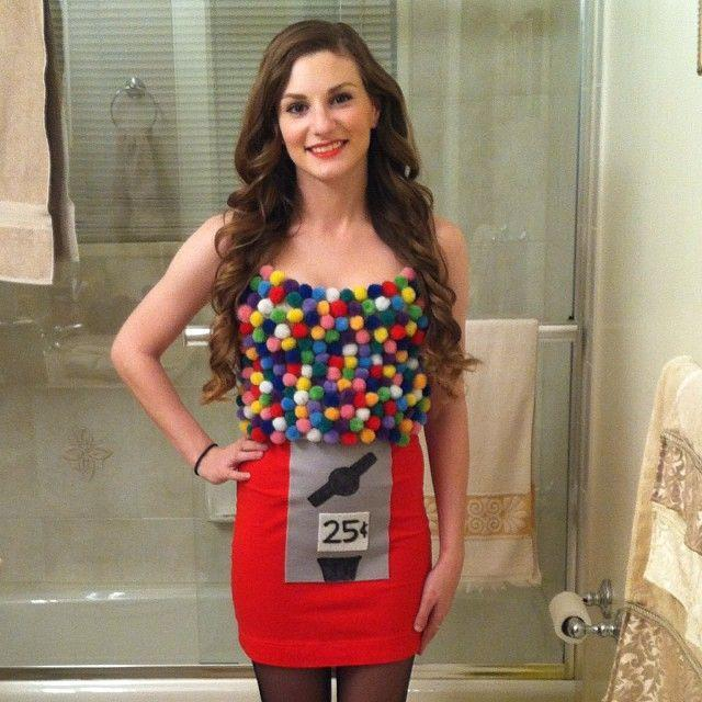 """<p>Remember bubble gum machines? Make people smile with this blast from the past costume idea.</p><p><strong>Get the tutorial at <a href=""""http://www.lifeunsweetened.com/2013/10/31/gumball-machine-halloween-costume/"""" rel=""""nofollow noopener"""" target=""""_blank"""" data-ylk=""""slk:Life Unsweetened"""" class=""""link rapid-noclick-resp"""">Life Unsweetened</a>. </strong></p><p><a class=""""link rapid-noclick-resp"""" href=""""https://www.amazon.com/NE-PEOPLE-Womens-Stretch-Bodycon/dp/B00OJZ1LUK/ref=sr_1_8?dchild=1&keywords=red+mini+skirt&qid=1592329593&sr=8-8&tag=syn-yahoo-20&ascsubtag=%5Bartid%7C10050.g.21600836%5Bsrc%7Cyahoo-us"""" rel=""""nofollow noopener"""" target=""""_blank"""" data-ylk=""""slk:SHOP RED MINI SKIRTS"""">SHOP RED MINI SKIRTS</a></p>"""