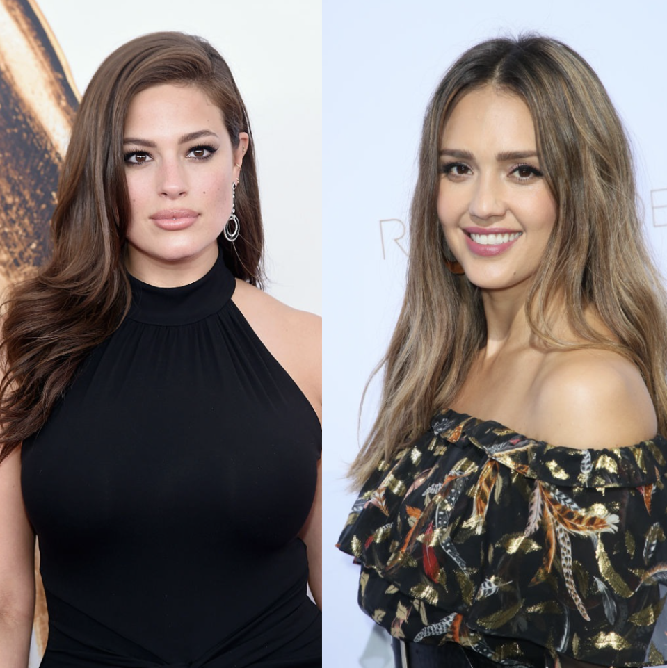 Ashley Graham and Jessica Alba open up about mom-shaming. (Photo: Getty Images)
