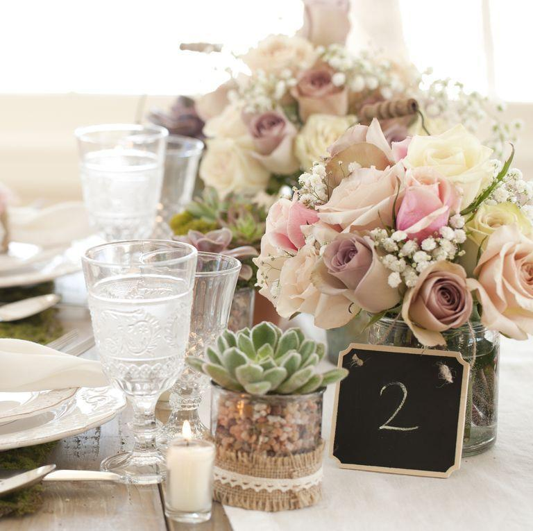 """<p>It's an unspoken rule that wedding guests are allowed to take the floral centerpieces on the dining tables. That doesn't mean vases are up for grabs, however. """"You don't want the couple to end up with a bill for your lapse of judgement,"""" says Spiegel. <strong><br></strong></p><p><strong>RELATED: </strong><a href=""""https://www.goodhousekeeping.com/home/craft-ideas/g25992249/diy-floral-garland/"""" rel=""""nofollow noopener"""" target=""""_blank"""" data-ylk=""""slk:14 DIY Floral Garland Ideas for Spring Parties and Weddings"""" class=""""link rapid-noclick-resp"""">14 DIY Floral Garland Ideas for Spring Parties and Weddings</a></p>"""